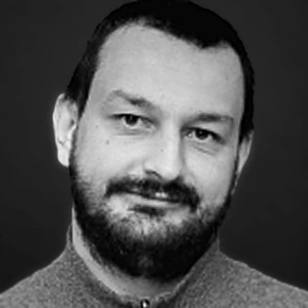 Portrait of Mitko Kochkovski